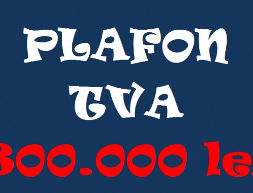 PFA – inregistrare ca platitor de TVA la depasirea plafonului