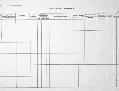 Registrul Unic de Control – 10 intrebari si raspunsuri